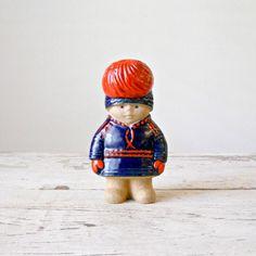 Vintage Lisa Larson 'Nils' Figurine  Gustavsberg by bergenhouse, $85.00