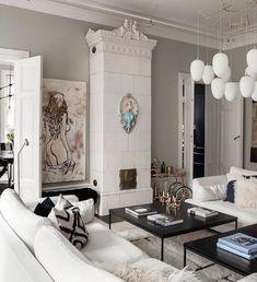"""Lifestyle auf Instagram: """"Jag vet att ni kanske är trötta på mitt hem nu🙆🏼♀️Jag menar hur många gg kan man vilja se samma jäkla vardagsrum?? Ah ja här kommer iaf ett…"""" Vogue Living, Contemporary Decor, Interior Inspiration, Home Office, Interior Decorating, Homes, Manga, Living Room, Bathroom"""
