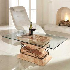 Cool  salontisch tischgestell wohnzimmertisch couchtisch tisch glas glastisch sofatisch wohnzimmer couchtische tische