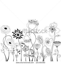 Floral background by Rouz