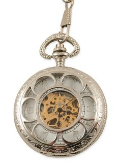 Jem was given his grandfather's pocketwatch. Then he found one in the knothole of the tree.