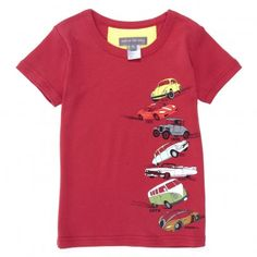 Milk on the Rocks  T-shirt Time car - Rouge    43,00 €