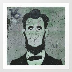 Lincoln Art Print by Doren Chapman -