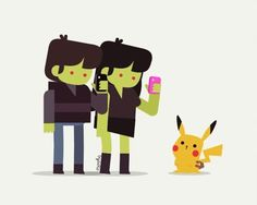 Mi versión de Modern Zombies con pokemons #modernzombies #pokemongo #pikachu #pokemon #zombie #addiction 😔