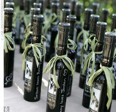 Italian wedding favors ideas bottiglie – Exclusive Italy Weddings Blog