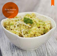 Prepará esta rica y fácil receta de risotto.