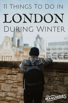 11 Wonderful Things To Do In London During Winter - Sightseeing - Reisen London Winter, London Christmas, Eurotrip, Weihnachten In London, Visit Uk, Things To Do In London, London Photography, Scenic Photography, Tower Of London