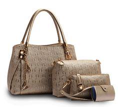 49.99$  Watch here - http://alim4x.worldwells.pw/go.php?t=32777481138 - 4 PCS/Set Geometric Pattern Composite Bag Women Shoulder Messenger Bags Purse PU Leather Handbags Tote Hasp Card Pack