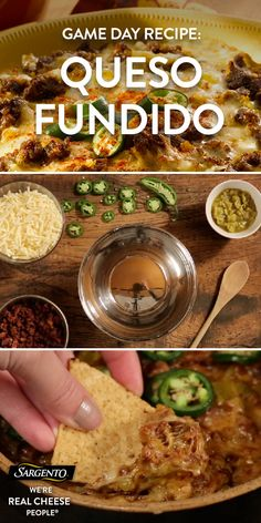 Promoted by Sargento®.  You can never go wrong with a queso dip when serving appetizers to friends. They'll love the blend of chorizo sauce, green chilies, jalapeños and Sargento® Traditional Cut Shredded Pepper Jack Cheese in our recipe. We promise your guests will be dipping away until the bowl is empty. Click the dip for the full scoop!