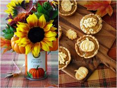 Mini Pumpkin Pies and a Blooming Can Recipe on Yummly. @yummly #recipe
