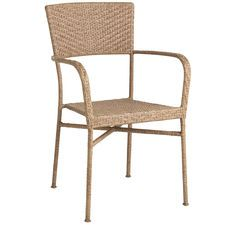 Del Rey Stacking Chair - Light Brown @ Pier One $89