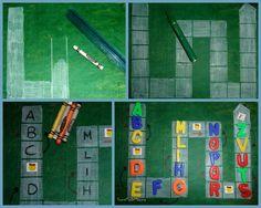 gioco dell'oca con lettere