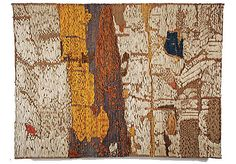 Jolanta Owidzka...linen,sisal,wool and anilana.  61 inches by 80 inches.