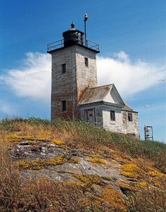 Twobush Lighthouse, 6 miles off Tenant's Harbor, Maine by lucy