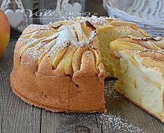 Torta di mele con ricotta e albumi ricetta dolce leggera