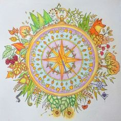 Mandala Coloring Of Johanna Basford