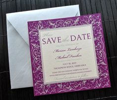 Great pattern for invitations