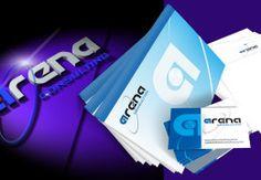 Logotipos e Criação Gráfica Arena Consulting