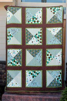 my first original quilt pattern! riley blake