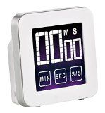 Cook N Home Touch Screen Digital Kitchen Timer White