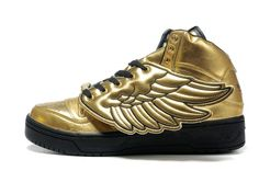 24 Best Adidas Jeremy Scott Wings Shoes 1.0 Gold images