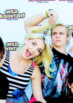 Rydel and Ross Lynch