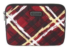 Marc by Marc Jacobs Crosby Quilt Nylon Printed Tablet Case in Ruby Red Multi