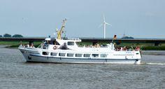 """M/V """"Adler II"""" near Tönning, Schleswig-Holstein"""