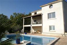Vakantiehuis la maison blanche - Courry - Gard Zuid Frankrijk - Privé zwembad