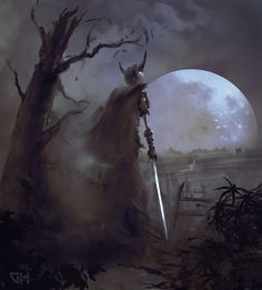 A lone Wight makes the trek across the bad lands to the summons of the Necromancer.