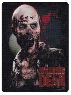 Walking Dead Throw Blankets Classy Heads To Keep You Warm  Walking Dead Review