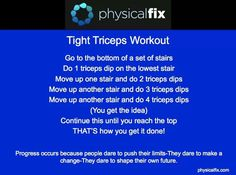 Tight Triceps Workout