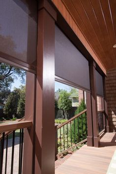 Phantom Retractable Screens At The Kuppersmith Project Traditional Porch Atlanta By