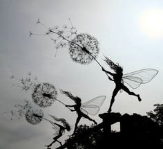 Handmade Wire Sculptures Straight Out Of A Fairytale | Marvelous