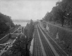 Union Station, Photo Archive, Ottawa, Railroad Tracks, Vintage Photos, Bridge, Canada, Urban, History