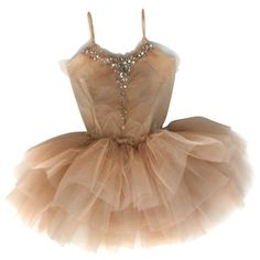 Princess Sparkles Tutu Mushroom ($149) ❤ liked on Polyvore featuring dresses, ballet, dance, vestidos, sparkly dresses, ballerina dress, beige sparkly dress, beige dress and ballet dress