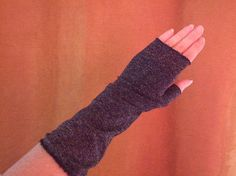 gloves from sweater sleeves