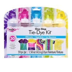Tulip® One-Step Tie-Dye Kit®, Ultimate