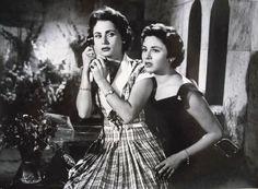 مع زهرة العلا فى فيلم موعد غرام