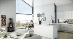 Trendy kitchen - lovely photo