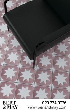 Pink Pradena Tile is part of Bert & May's handmade cement tile collection. Shop our range of quality tiles in plain or patterned styles, created using natural pigments. Downstairs Toilet, Encaustic Tile, Spanish Tile, Dynamic Design, Handmade Tiles, Bathroom Renovations, Cement, Different Colors, Colours