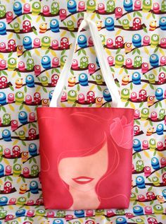"Ariel tote, $14.99 | 21 Adorable Items For ""The Little Mermaid"" Fan In Your Life"