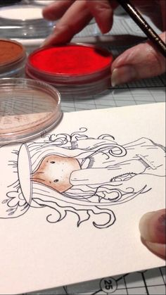 Colouring an image with Pan Pastels - Part 1
