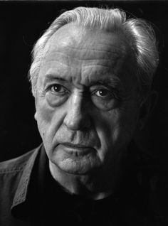Pierre Soulages (1919) - French painter, engraver and sculptor. Photo by Fritz Pitz, 1960s