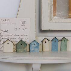 I like the little houses