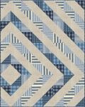Asymmetrical Diamond Free Pattern: Robert Kaufman Fabric Company - would be great in flannel.