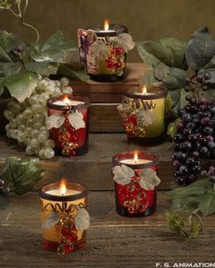 pretty votive holders