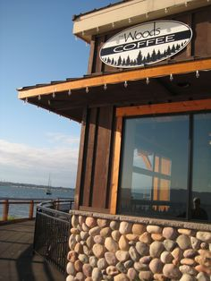 #Bellingham is @WoodsCoffee on #Bellingham Bay
