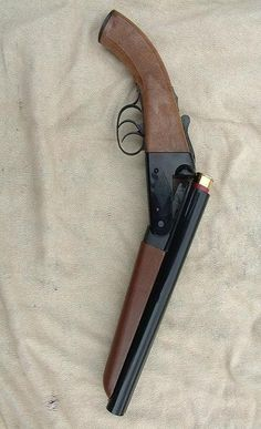Sawn-off 12ga sxs, preferably made from a Stoeger Coach Gun