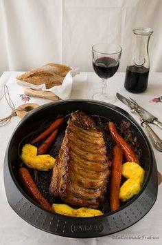 La cocina de Frabisa: Receta: Costilla al horno con Miel y Salsa Barbacoa
